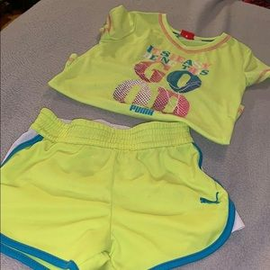 Puma outfit size 6